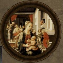 <b>圣母与圣子</b><br />(Madonna and Child)<br /> 菲利波·利比