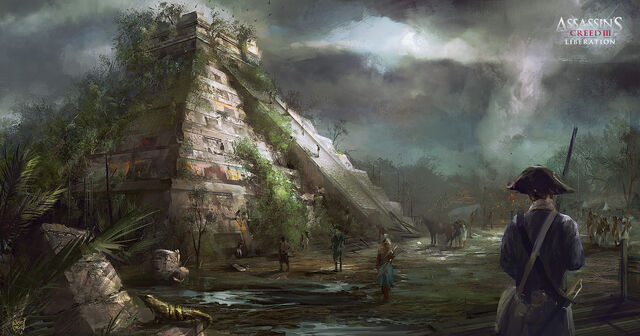 File:ASSASSIN'S CREED 3 LIBERATION - Chichen itza 01 by nachoyague.jpg