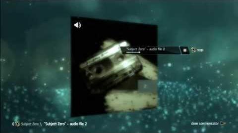 Subject Zero - audio file 2