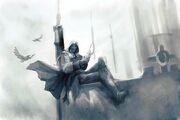 Early Ezio concept art