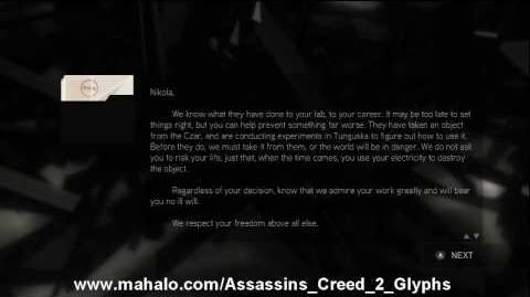 Assassin's Creed 2 Walkthrough - Glyph Puzzle 16 HD