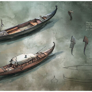 Gondola concept illustrations
