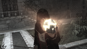 AssassinsCreed Al Mualim holding the Piece of Eden.png
