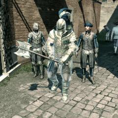一名威尼斯勇猛卫兵和两名其他卫兵
