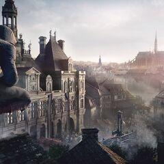 阿尔诺俯瞰巴黎