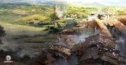 ACBF rooftop village