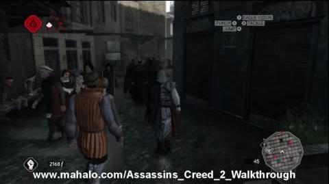 Assassin's Creed 2 Walkthrough - Glyph Puzzle 1 HD