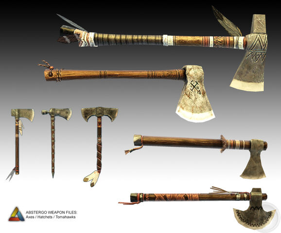 File:Assassin's Creed 3 Multiplayer Weapons - 02 by trebor7.jpg