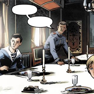餐车中的沙皇家室