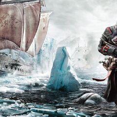 宣传照中谢伊·科马克在北大西洋