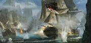 ACRG Naval Battle - Concept Art