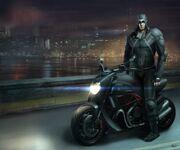 Desmond Assassin Concept plus Bike