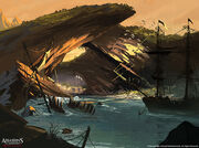 Assassin's Creed IV Black Flag concept art 12 by Rez