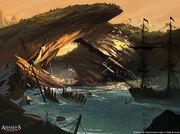 Assassin's Creed IV Black Flag concept art 12 by Rez