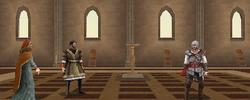 Ezio meeting Isabella