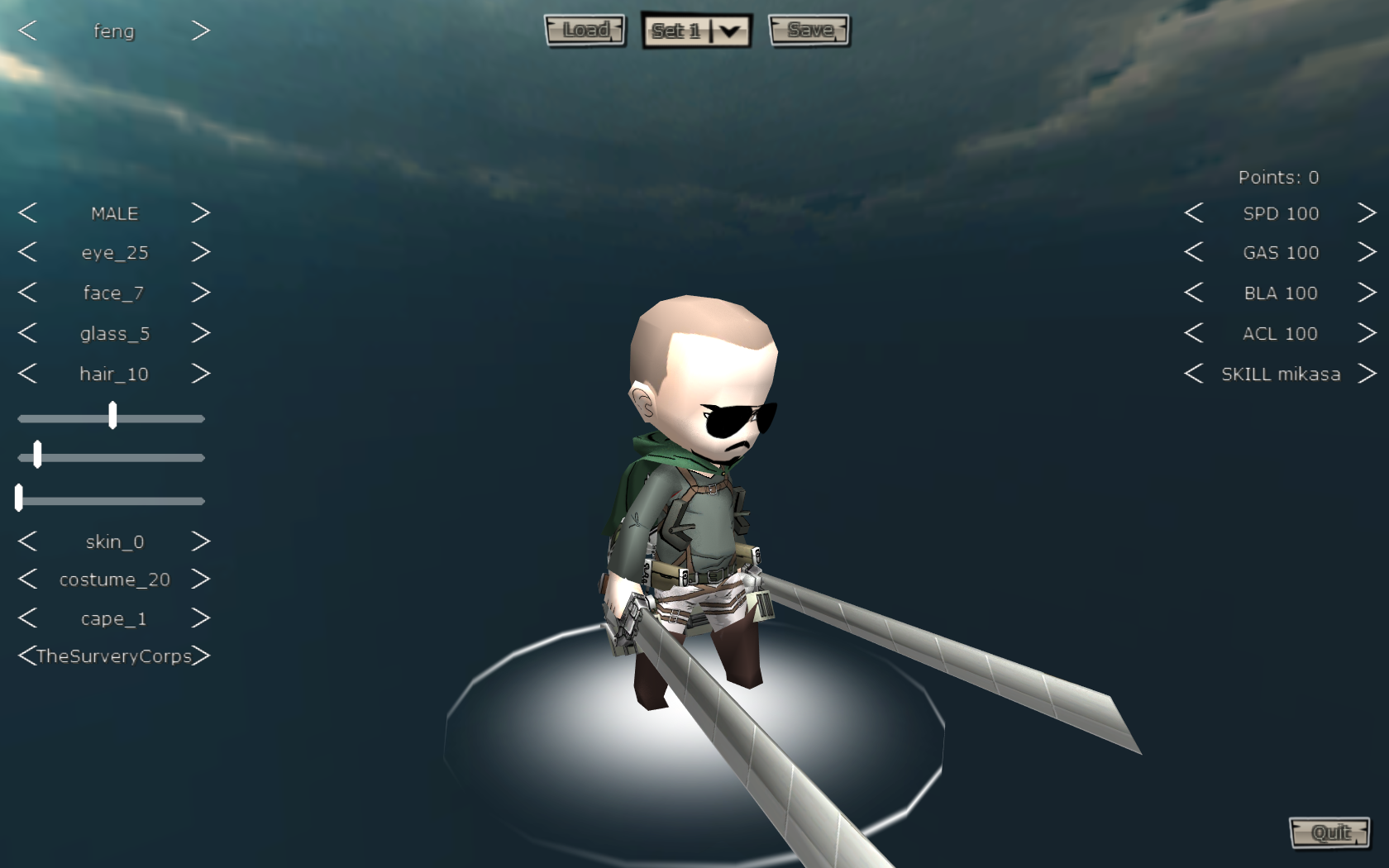 Attack On Titan Tribute Game By Fenglee Game
