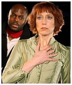 Christopher Obi and Lia Williams