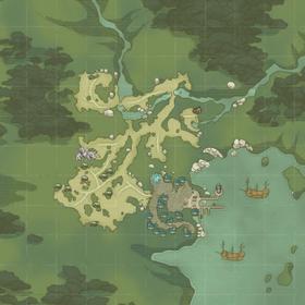 Map Port Skandia