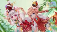 Serena & Gretel Wallpaper