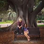 Raura on the bench
