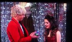 Austin and Ally mix ups and mistletoes 38