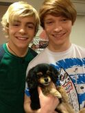 Ross and Pixie and Calum