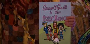 Groovy Goat and the Mystery Bunch; The Comic Book