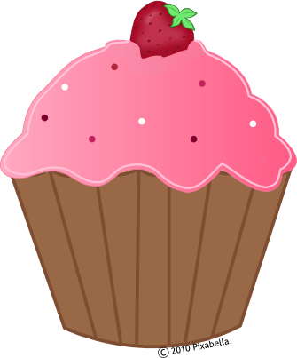 Cupcake Animated Images : CARTOON CUPCAKE - For childrens
