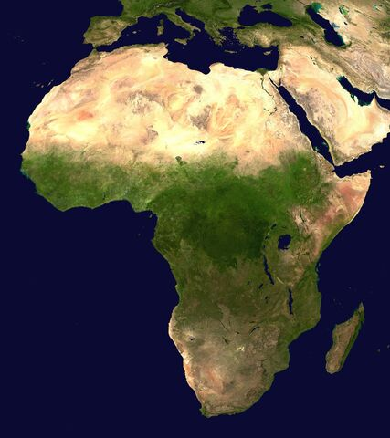 Datei:Africa satellite orthographic.jpg