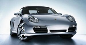 2007 boxster s front