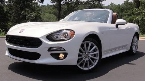 2017 Fiat 124 Spider - Start Up, Road Test & In Depth Review