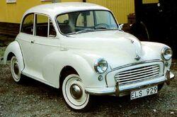 Old Morris Minor