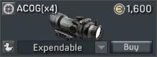 F2000 Scandium ACOG(x4)