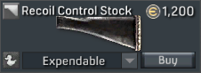 FAL Cannon Recoil Control Stock