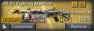 AR-57 Fighting Machine inventory