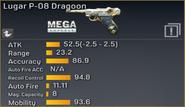 Lugar P-08 Dragoon statistics