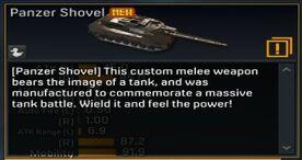 Panzer Shovel Description