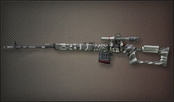 Weapon Sniper SVD Zeebra