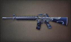 AR M16A2 pristis