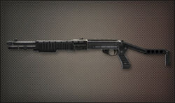 Weapon Shotgun SPAS-12