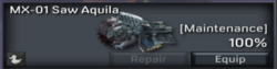 MX-01 Saw Aquila