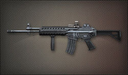 Weapon Assult K2 Rail