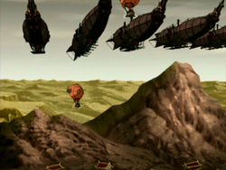 Airships take flight