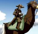 Struisvogel paard