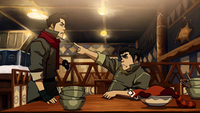 Bolin and Mako argue