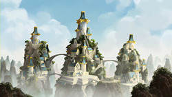 Restored Eastern Air Temple