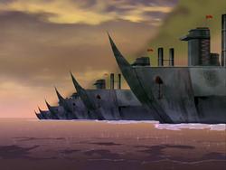 Fire Navy ships