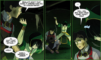 Satoru tells Toph of his past