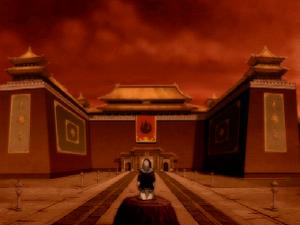 Occupied Earth Kingdom palace
