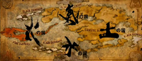 World Map in The Last Airbender film
